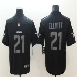 Cowboys Ezekiel Elliott Jersey black